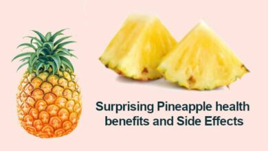 Pineapple health benefits and Side Effects