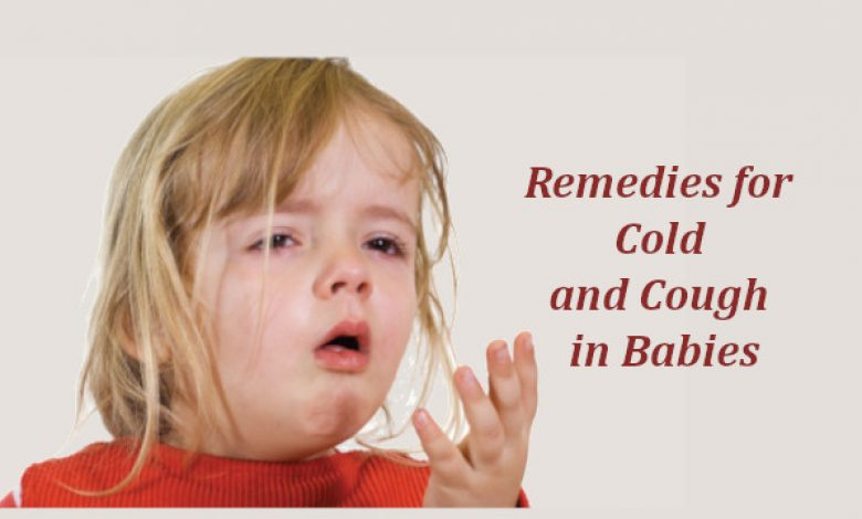 Remedies for Cold and Cough in Babies