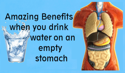 Amazing Benefits When You Drink Water on an Empty Stomach