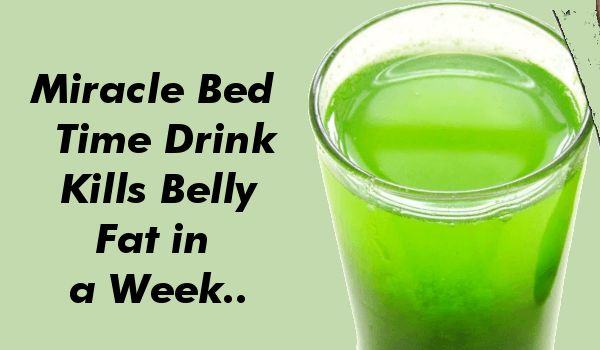 Photo of Miracle Bed Time Drink That Kills Belly Fat in a Week