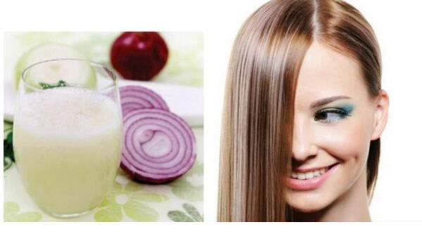 Photo of Onion Juice for hair: How to Use Onion and Potato to Grow Long Thicken Hair faster