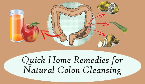 Quick Home Remedies for Natural Colon Cleansing