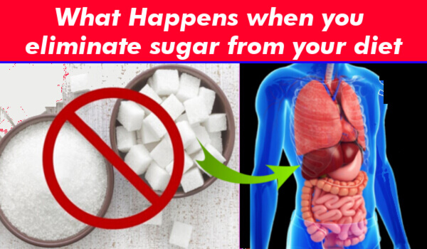 What Happens when you eliminate sugar from your diet