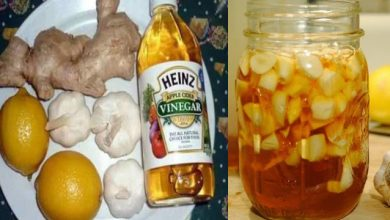 Most Powerful Lemon and Garlic Mixture to Clean Your Arteries