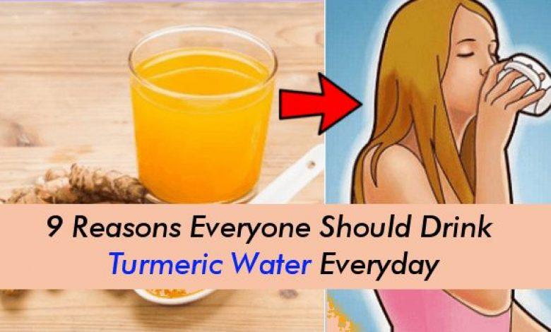 Reasons Everyone Should Drink Turmeric Water Everyday