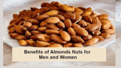 Benefits of Almonds Nuts for Men and Women