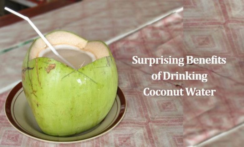 Surprising Benefits of Drinking Coconut Water