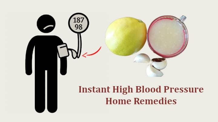 High Blood Pressure Home Remedies