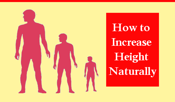 How To Increase Height Naturally At Home