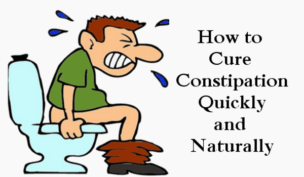 How to Cure Constipation Quickly and Naturally