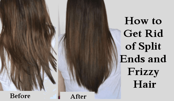 How to Get Rid of Split Ends and Frizzy Hair