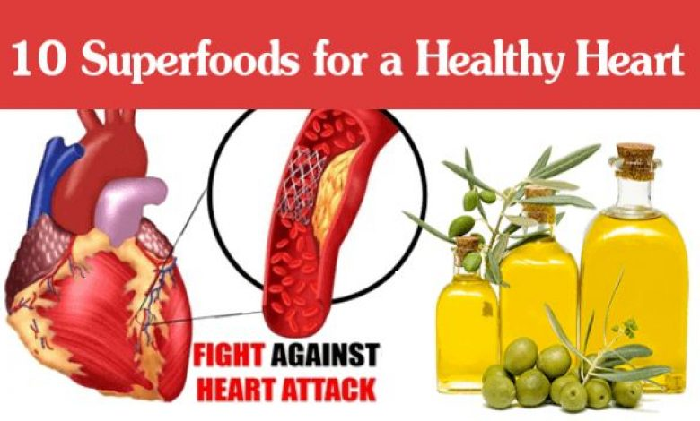 10 Superfoods for a Healthy Heart