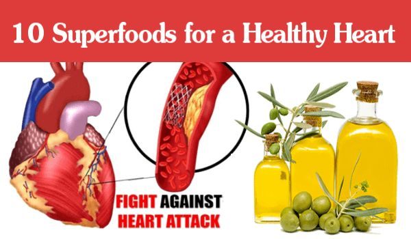 Photo of Prevent Heart Attacks: 10 Superfoods for a Healthy Heart