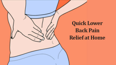 Photo of Quick Lower Back Pain Relief at Home without Medications