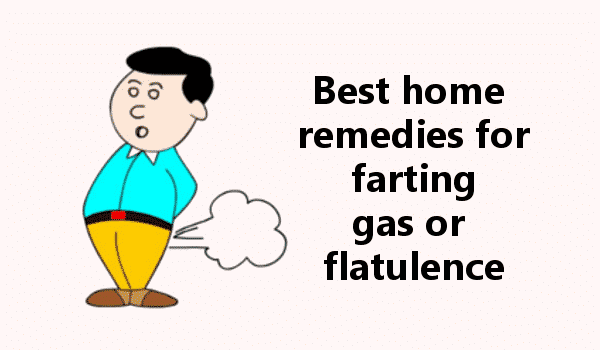 Home Remedies For Farting Gas or Flatulence