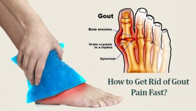 Photo of Gout Pain Relief: How to Get Rid of Gout Pain Fast