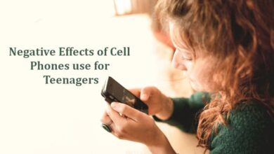 Negative Effects of Cell Phones use for Teenagers