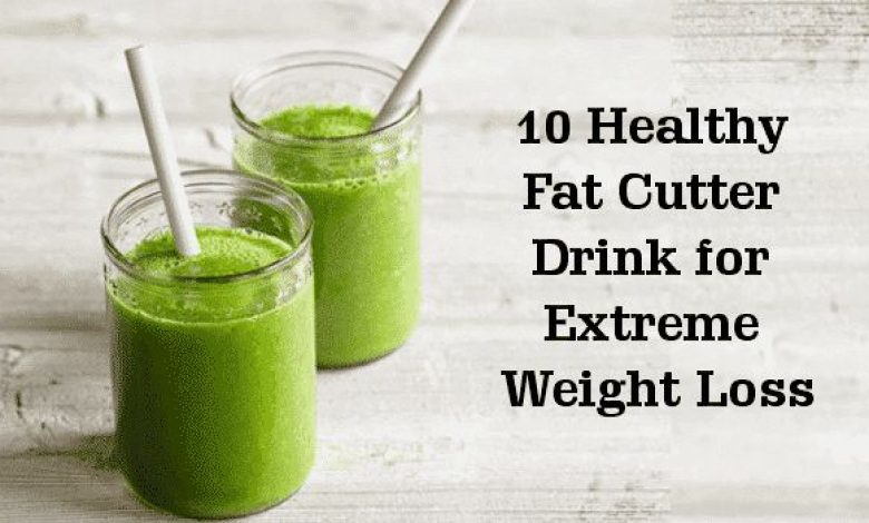 Weight Loss Drinks: 10 Healthy Fat Cutter Drink for Extreme Weight Loss