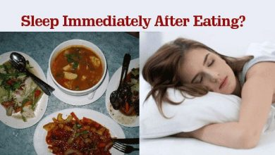 Why Should You Not to Sleep Immediately After Eating?