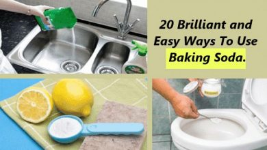 Photo of 20 Brilliant and Easy Ways To Use Baking Soda For You And Your Home