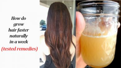 Photo of How do Grow Hair Faster Naturally in a Week (Tested Remedies)