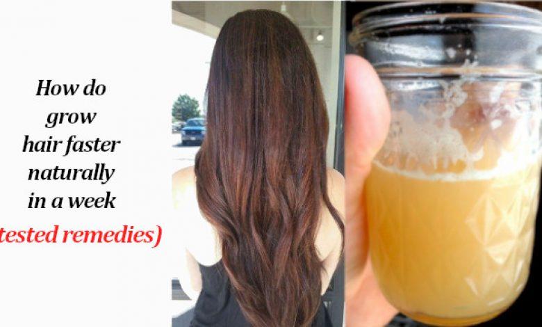How do Grow Hair Faster