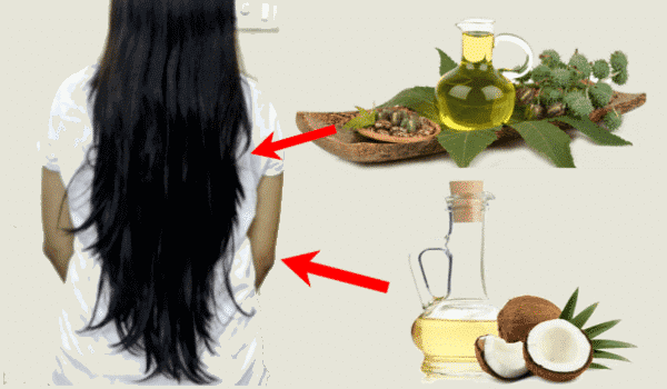 How to use Castor oil and Coconut Oil for Hair Growth Fast