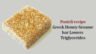 Pasteli recipe greek Honey-Sesame bar