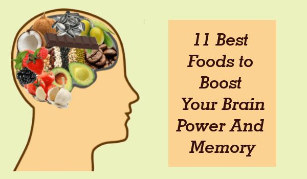 11 Best Foods to Boost Your Brain Power And Memory