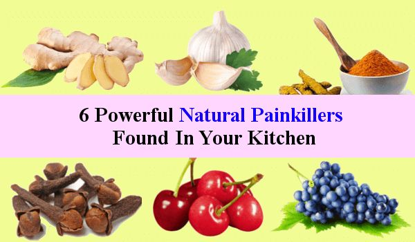 6 Powerful Natural Painkillers Found in Your Kitchen to Get Instant Relief