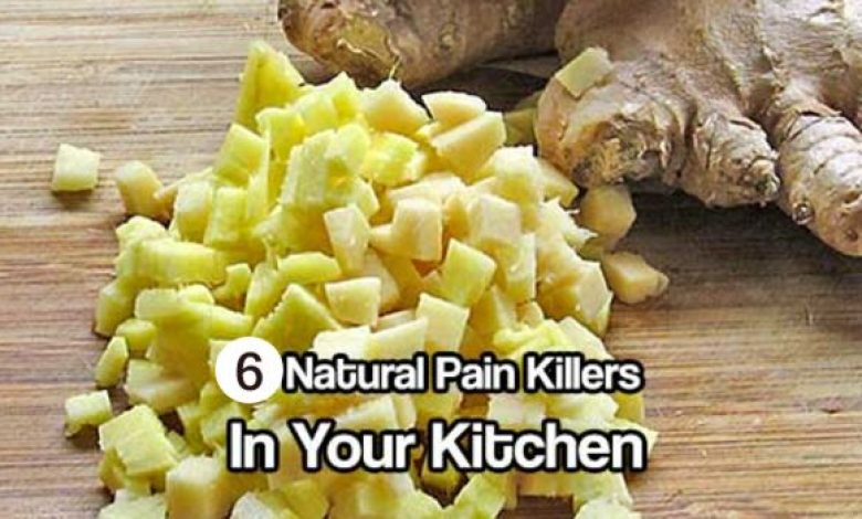 6 Powerful Natural Painkillers Found In Your Kitchen