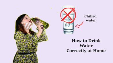 How to Drink Water Properly at Home