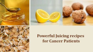 Powerful Juicing recipes for Cancer Patients