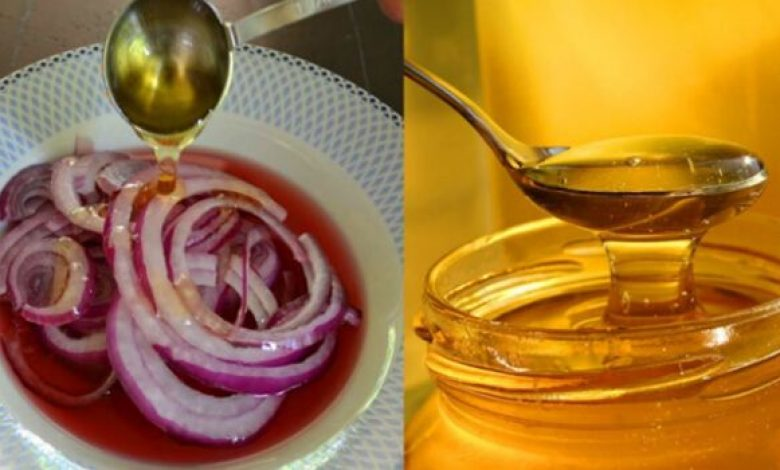 Eat Honey Mixed With Onions,