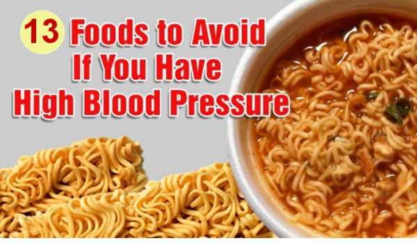Foods to Avoid If You Have High Blood Pressure