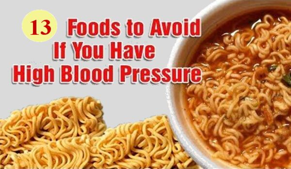 13 Foods to Avoid If You Have High Blood Pressure