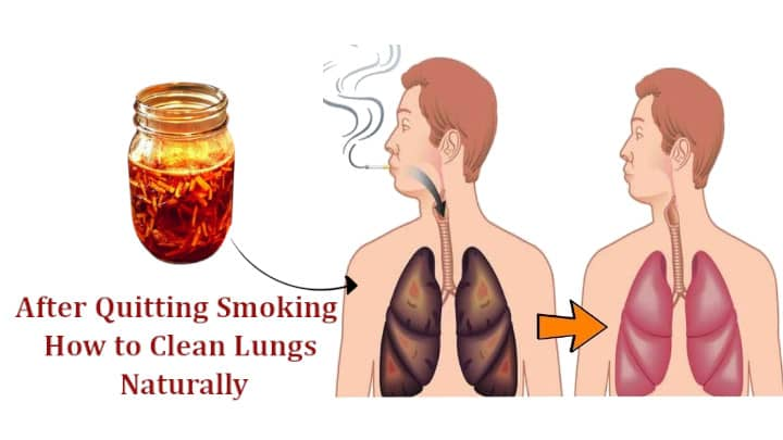 After Quitting Smoking How to Clean Lungs Naturally