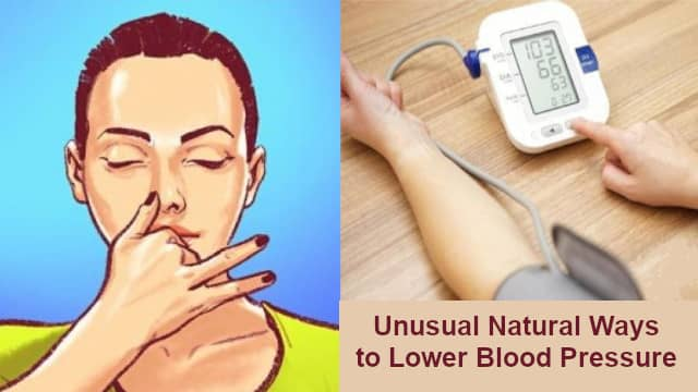 Natural Ways to Lower Blood Pressure at Home