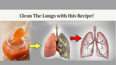 Photo of Say Goodbye to Cough Phlegm, Flu, and Clean the Lungs with this Recipe!