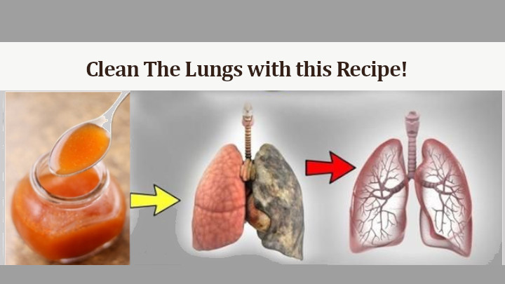 clean the lungs