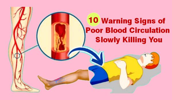 Photo of 10 Early Warning Signs of Poor Blood Circulation Slowly Killing You