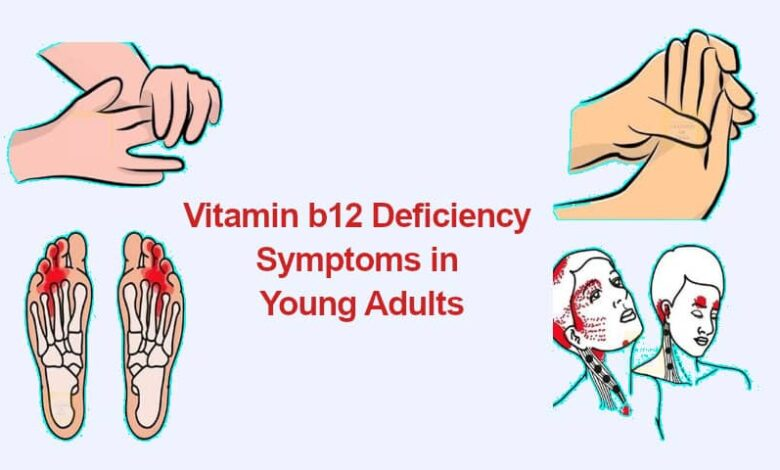 Severe Vitamin b12 Deficiency Symptoms in Young Adults