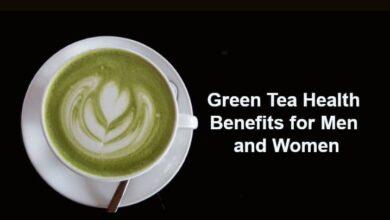 Green Tea Health Benefits for Men and Women