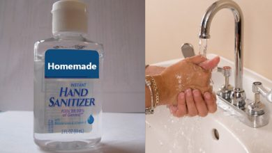 Photo of Homemade Hand Sanitizer: How to Make Hand Sanitizer (easy recipe)
