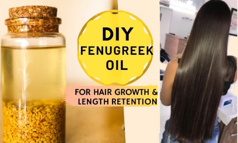 Fenugreek Oil for Hair
