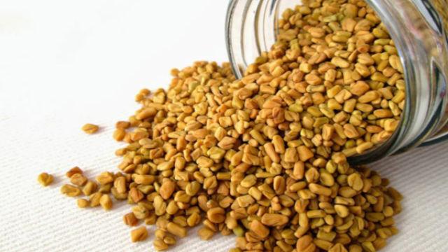 Fenugreek seeds for hair growth