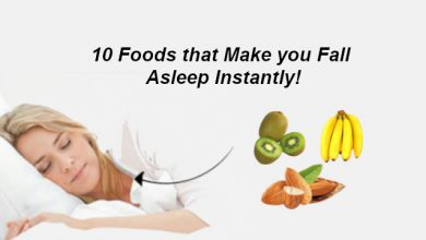 Photo of Best Food for Sleep: 10 Foods that Make you Fall Asleep Instantly!