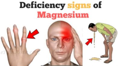 Magnesium Deficiency Symptom