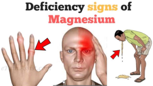 Magnesium Deficiency Symptom