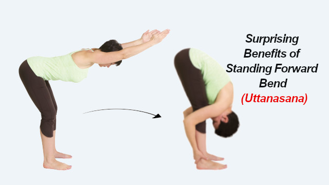 Surprising Benefits of Standing Forward Bend (Uttanasana)